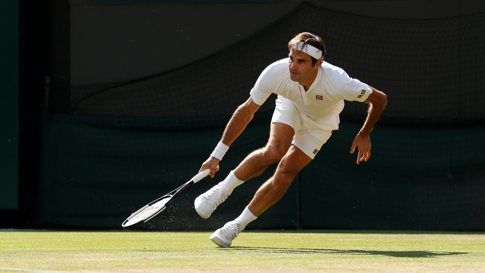 Switzerland's Roger Federer lost the men's singles quarterfinal to South African tennis player Kevin Anderson at Wimbledon on Wednesday.