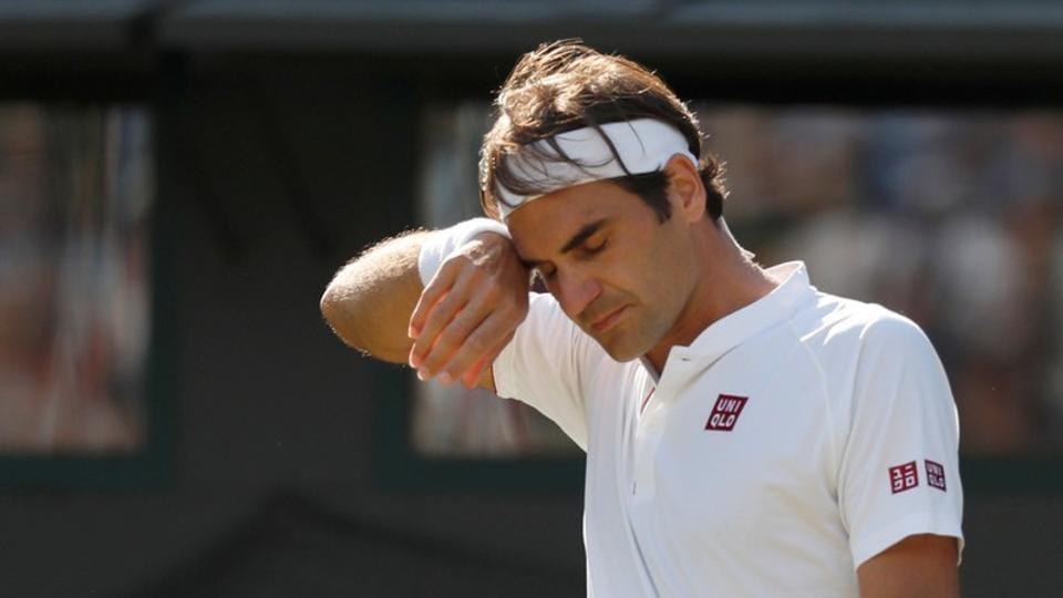 Roger Federer,Kevin Anderson,Wimbledon 2018