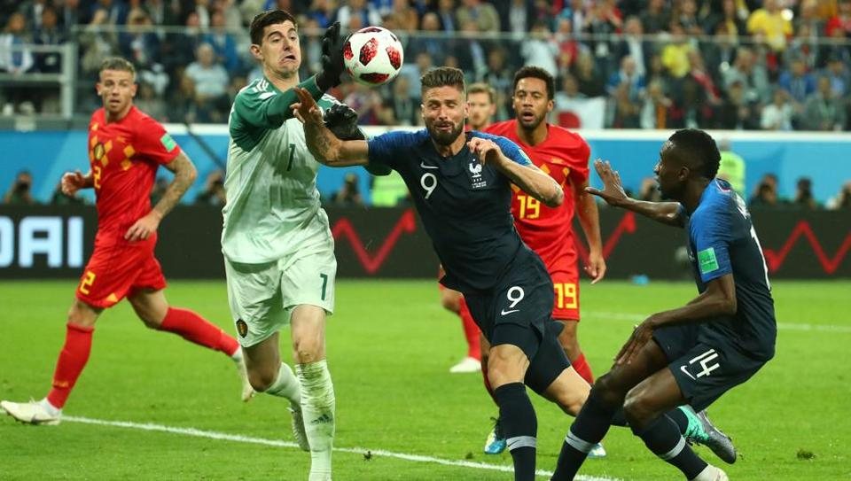 FIFAWorld Cup 2018,Thibaut Courtois,France football team