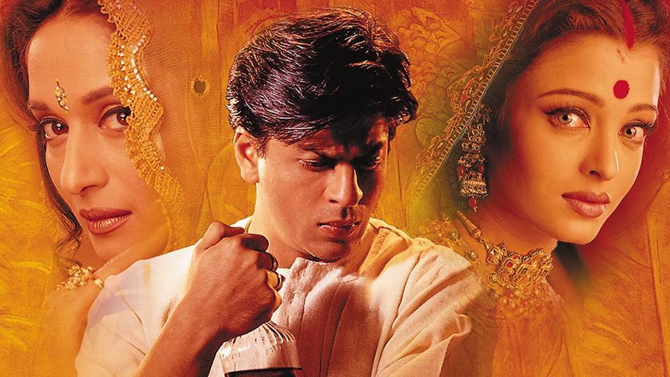 Devdas,Shah Rukh Khan,Aishwarya Rai Bachchan