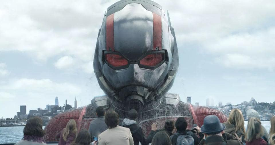 Director Peyton Reed makes inventive use of the micro / macro perspective from the vantage point of the insect-sized Ant-Man and his alternate avatar, the 65-ft-tall Giant-Man.