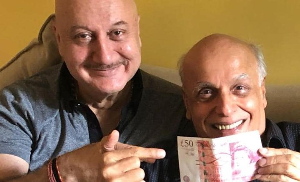 Anupam Kher,Mahesh Bhatt,Saaransh