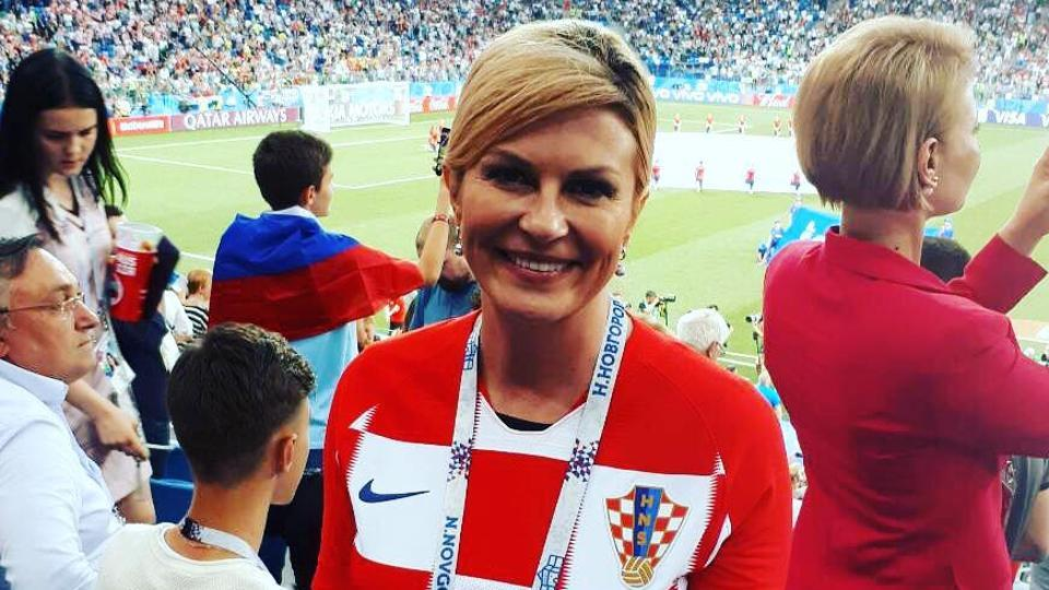 Croatia president celebrates World Cup win at North Atlantic Treaty Organisation  summit