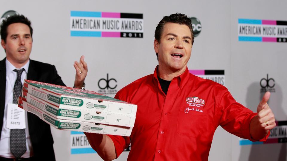 Papa John's Pizza,Papa John's chairman resigns,Racial slur