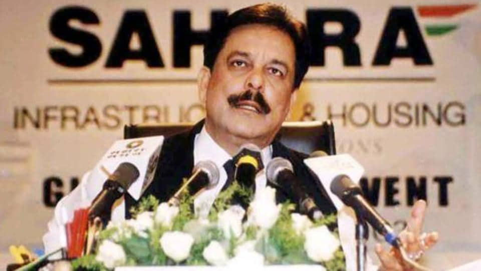 Sahara chief Subrata Roy (pictured), who spent almost two years in jail, has been on parole since May 6 last year.