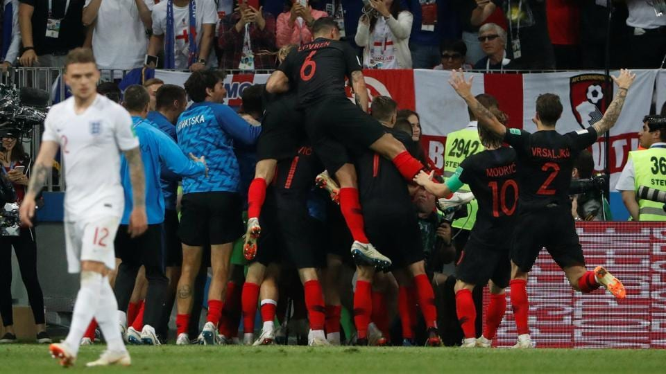 Croatia entered the final of the World Cup for the first time in history with this win (REUTERS)