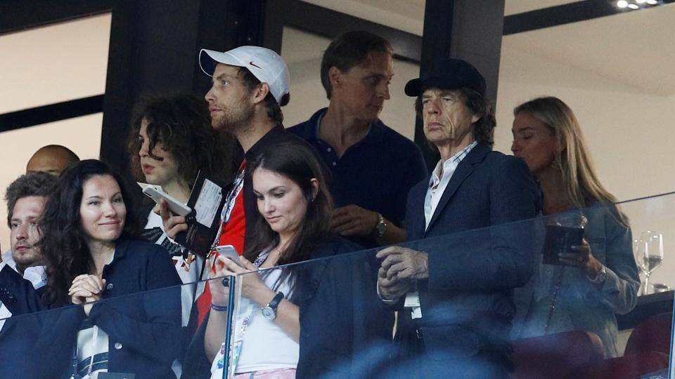 Mick Jagger,FIFAWorld Cup 2018,England football team