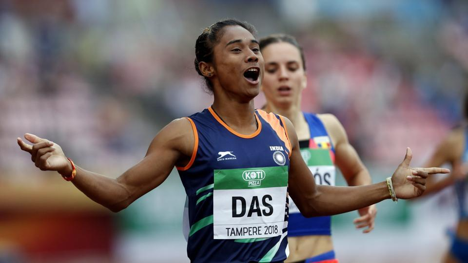 Athletics Federation of India,Hima Das,IAAF
