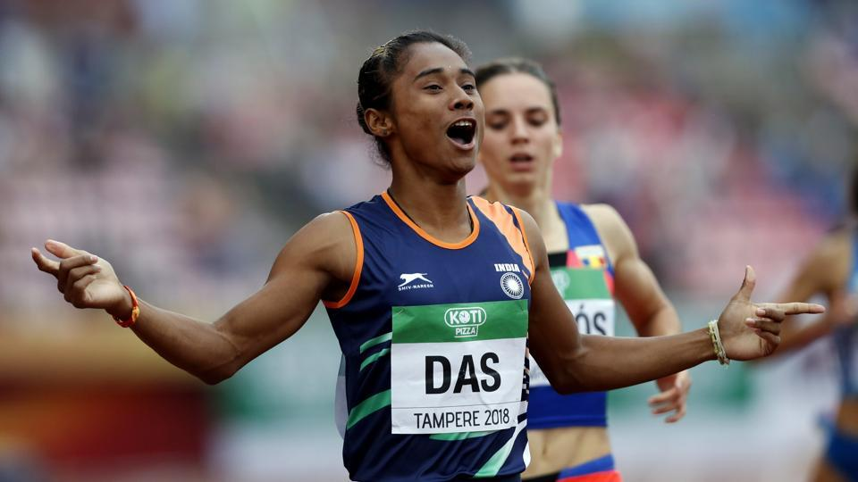 IAAF World Under-20 Athletics Championships,Hima Das,Gold medal