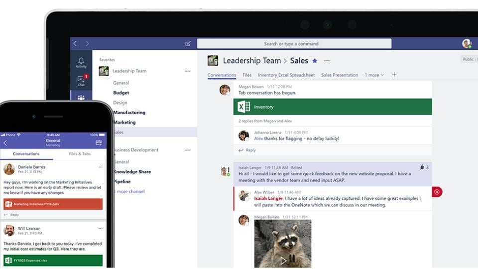 Microsoft Teams,Teams Vs Slack,Microsoft Teams Free