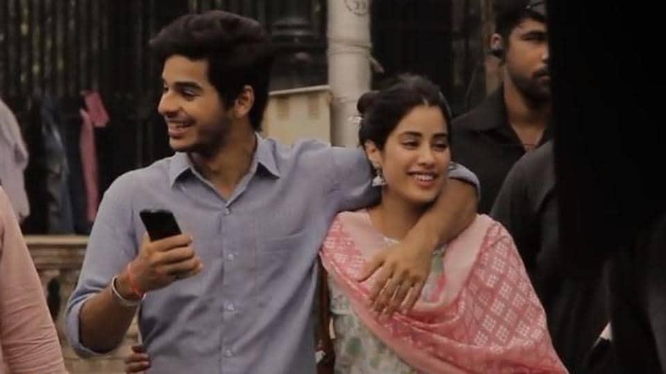 Janhvi Kapoor,Ishaan Khatter,Dhadak