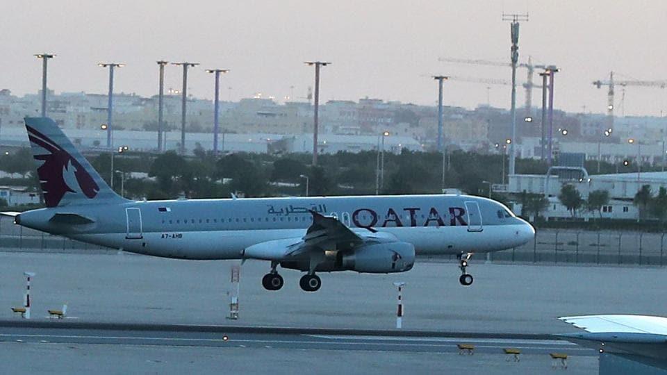 Qatar Airways,Airbus A330,rain