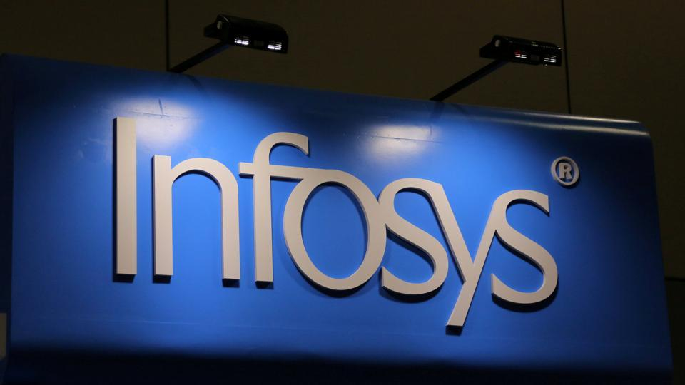 Infosys had reported a profit of Rs 3483 crore for the same period a year ago.