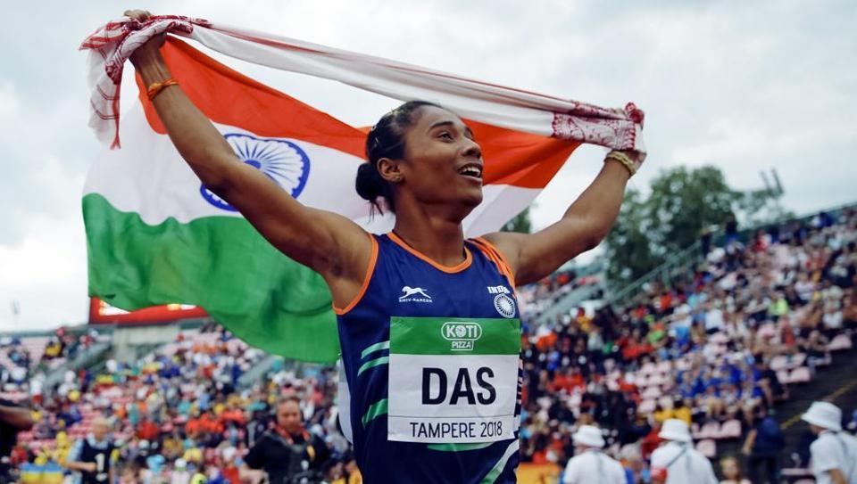 Hima Das,AFI,IAAF World U-20 Championships