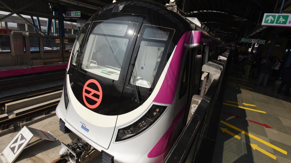 Delhi Metro Rail Service,Delhi Metro,Magenta Line