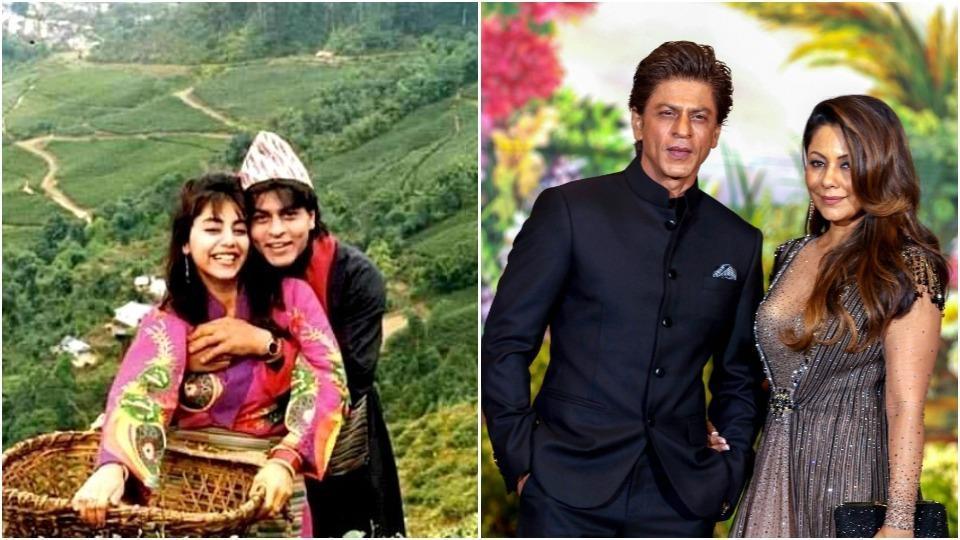 Shah Rukh Khan,Gauri Khan,Shah Rukh Wife