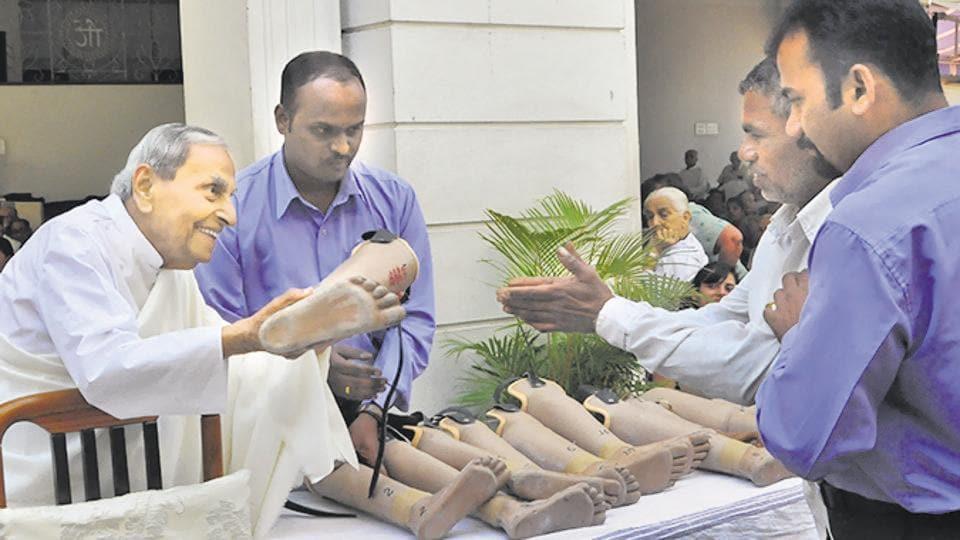 Dada Vaswani,enabling the disabled,spiritual leader