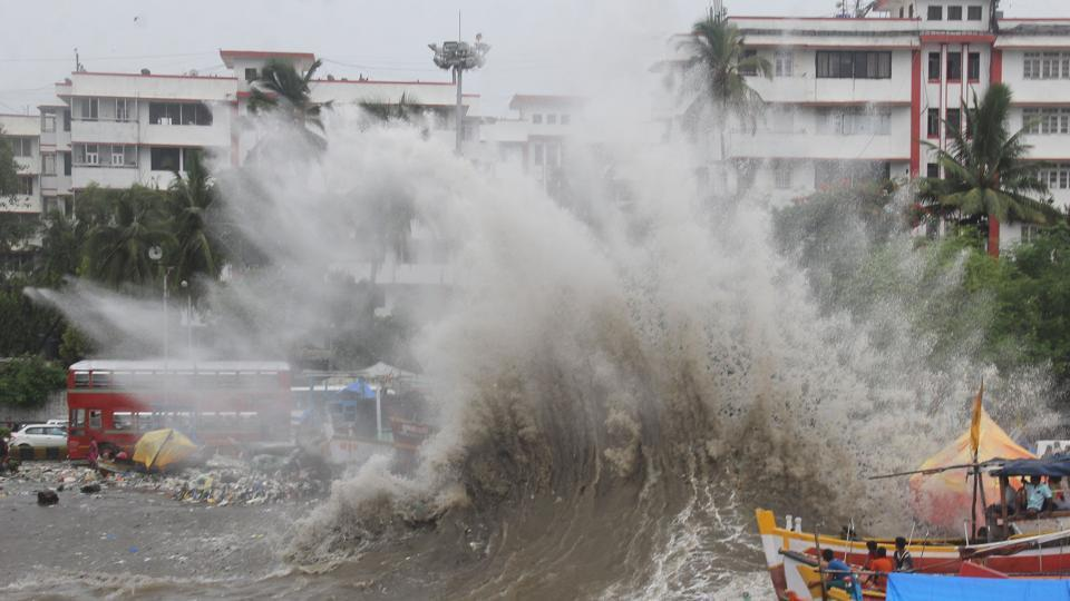 Mumbai,Mumbai monsoon,high tide