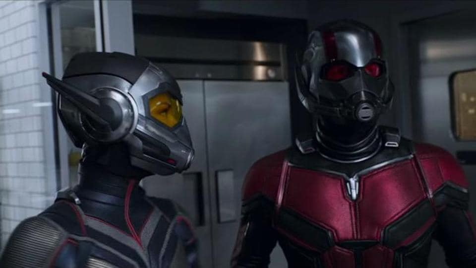 Paul Rudd and Evangeline Lilly star in Marvel's Ant-Man and the Wasp.