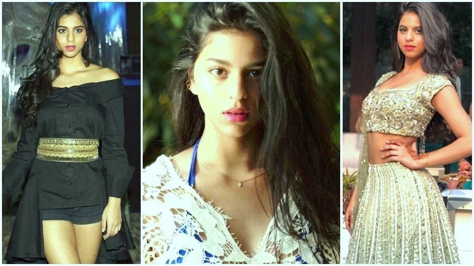 Suhana Khan,Shah Rukh Khan,Lehenga