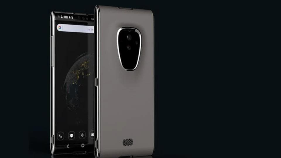 Finney blockchain phone to come with dual-screen design.