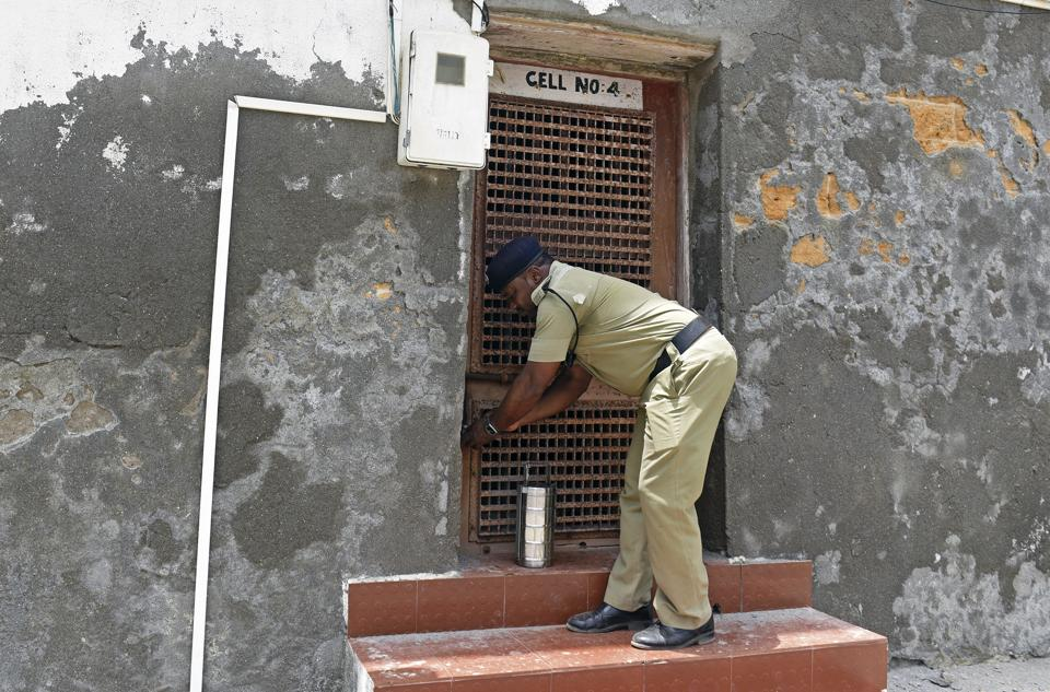 Locked Up In A Fort Only Cops For Company Meet India S
