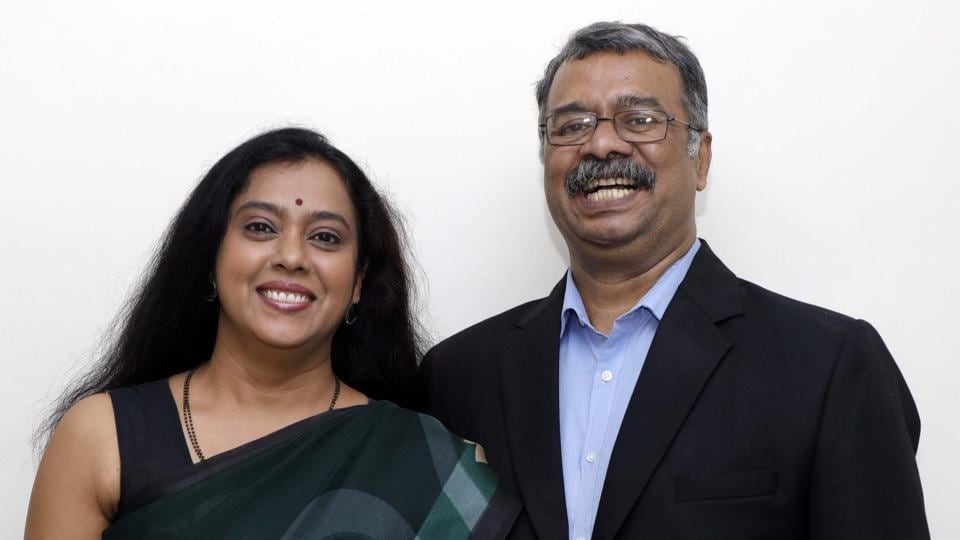 Mrinmayee Bhushan and Bhushan Vishwanath, founders of Mindfarm Novatech Private Limited