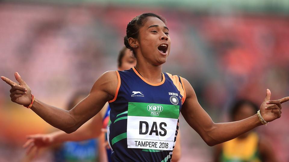 Hima Das,S Venkatsen,Jisna Mathew