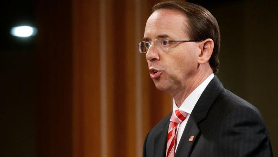 Rod Rosenstein,Robert Mueller,Mueller investigation update
