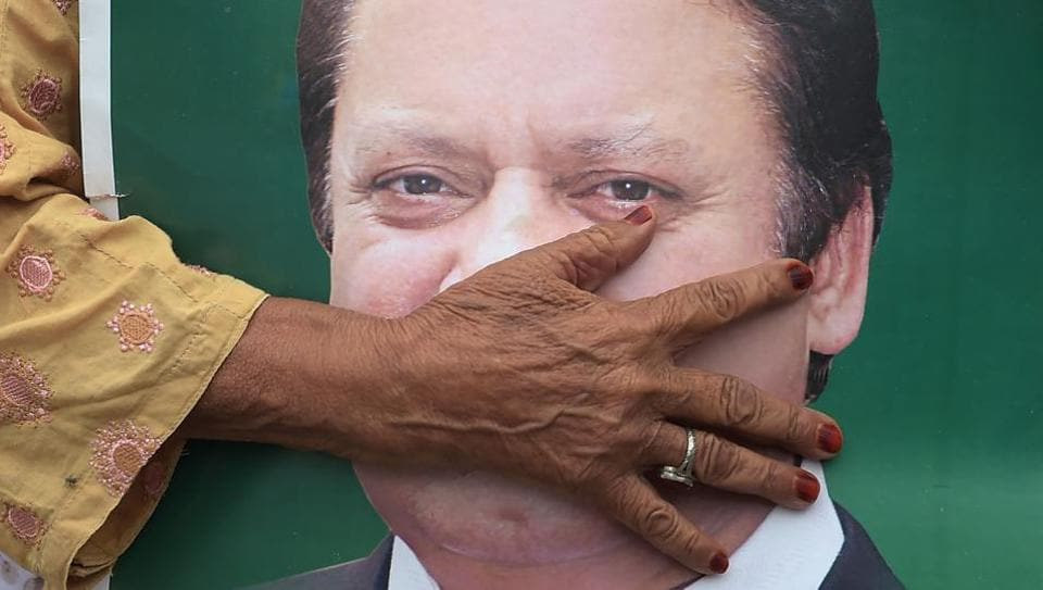 Nawaz Sharif arrested,Nawaz Sharif in jail,Maryam Nawaz Sharif in jail