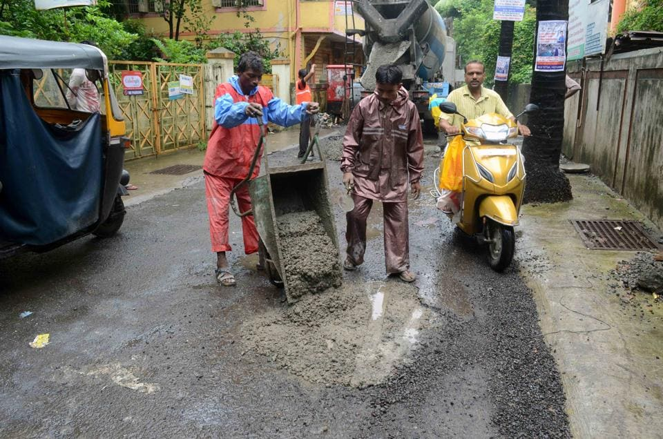 KDMC,MUMBAI,pothole