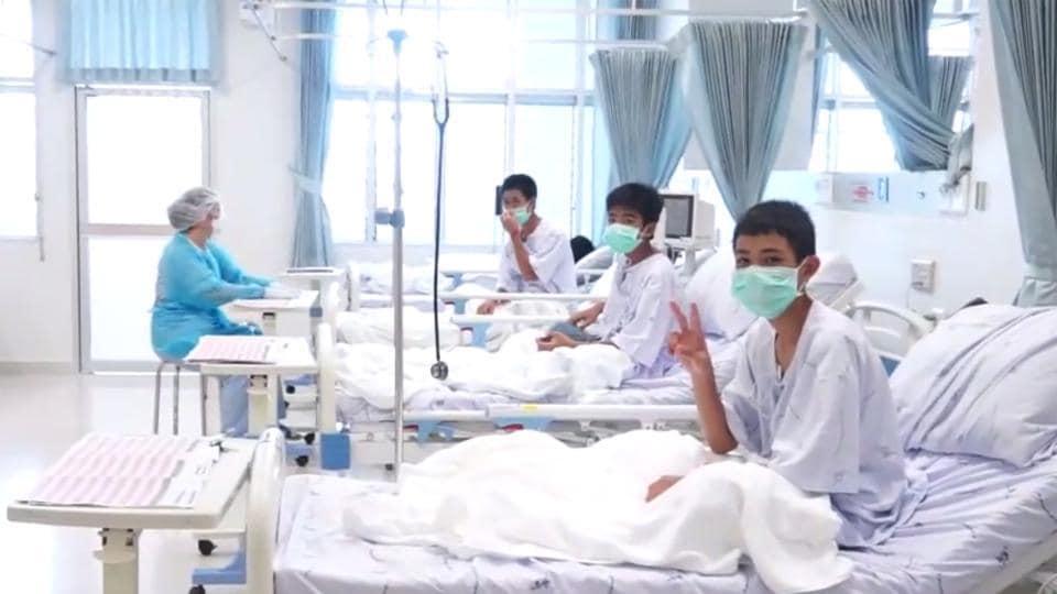 Thai cave,Thai cave boys,Thai cave boys to be discharged