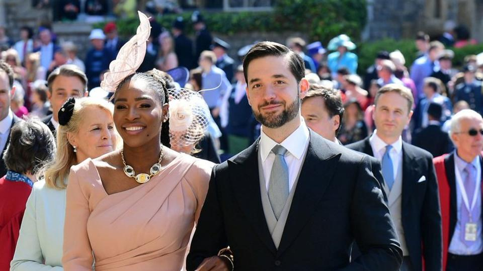 Serena Williams's husband Alexis Ohanian saluted the 36-year-old tennis star battling back from life-saving surgery to get within touching distance of an eighth Wimbledon title.