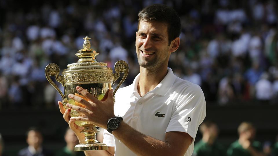 Novak Djokovic Beats Kevin Anderson To Win 4th Wimbledon 13th Major Tennis Hindustan Times