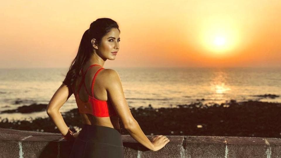 Even if you're terrified of crop tops, it might be worth giving some of these Katrina Kaif crop top outfit ideas a go. (Instagram)