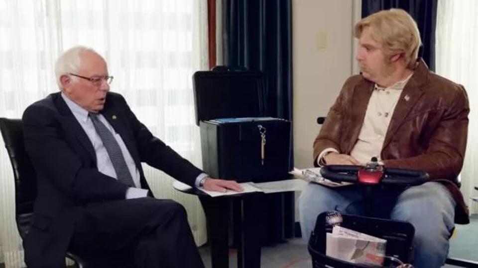 Sacha Baron Cohen,Who is America,Bernie Sanders
