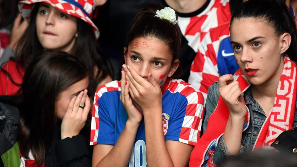 Croatia, with a population of only 4.2 million people, were not among the favourites at the start of the tournament. (AFP)