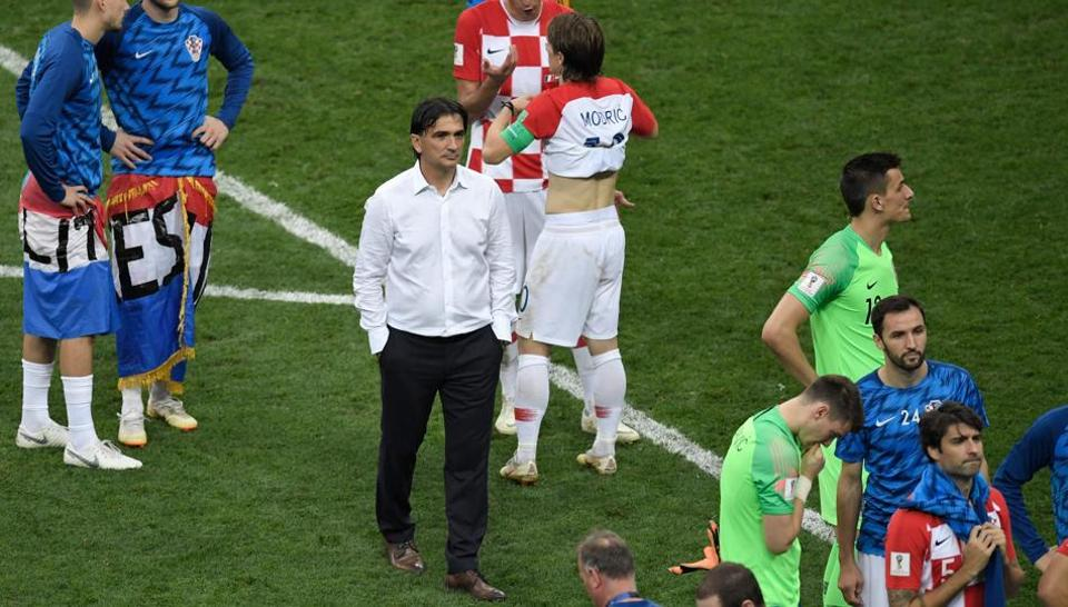 FIFA World Cup 2018,Croatia football team,Zlatko Dalic