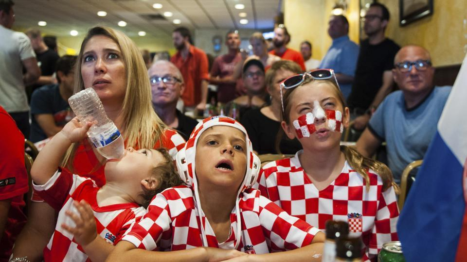 Their progress to the final gripped the imagination of the Balkan nation and members of the Croatian diaspora living in countries from Germany to Australia. (AP)
