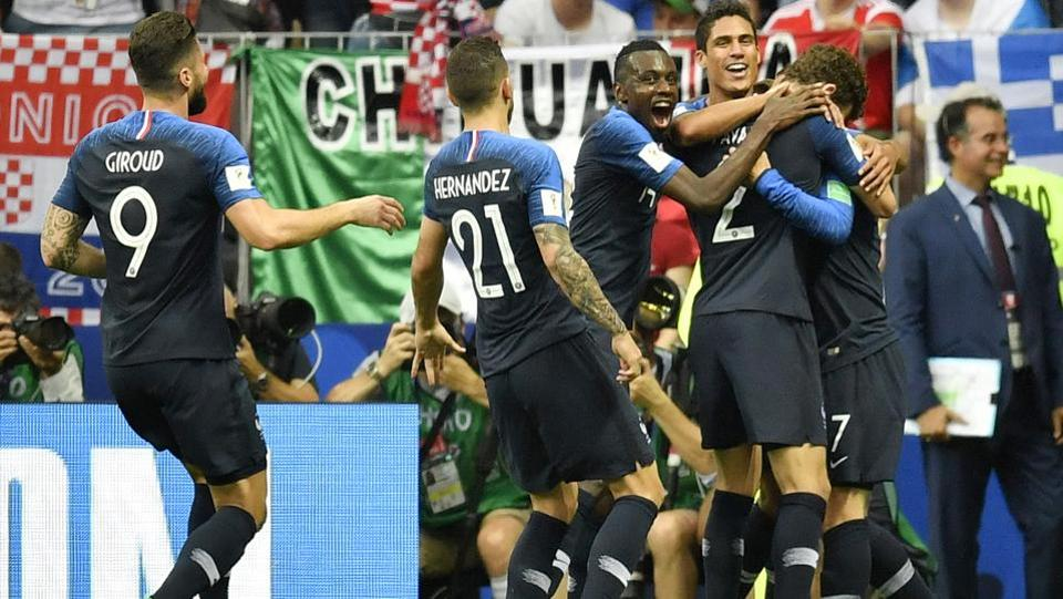 It was the first time that an own-goal was scored in the FIFA World Cup final. (AP)