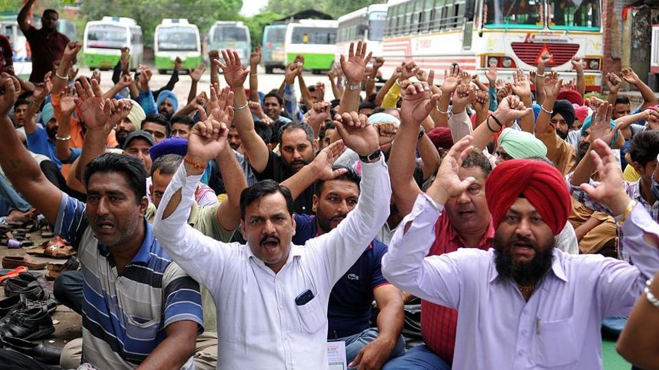 Punbus,Punjab Roadways,Punjab State Bus Stand Management Company