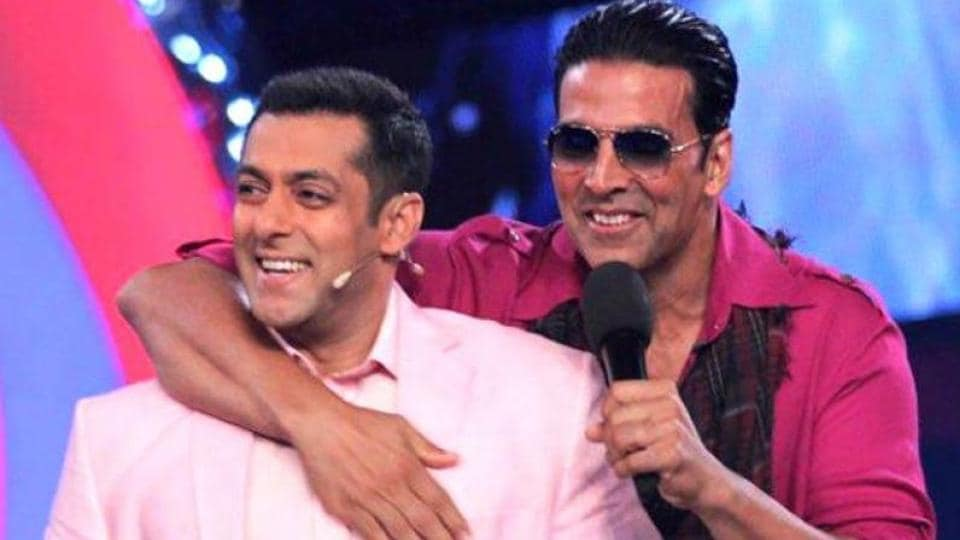 Salman Khan and Akshay Kumar have made it to the Forbes' list of world's highest paidd celebs.