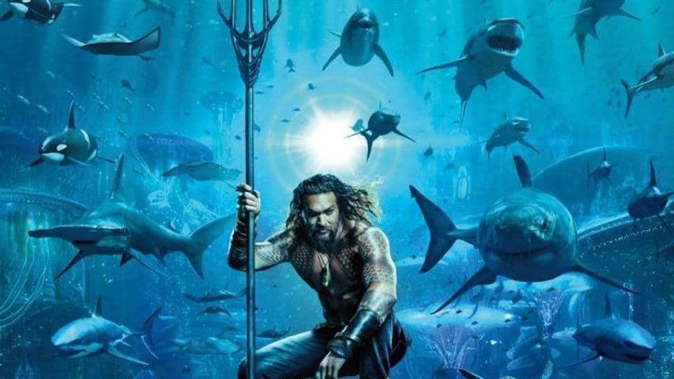 Jason Momoa (Khal Drogo) dives into the first official Aquaman poster