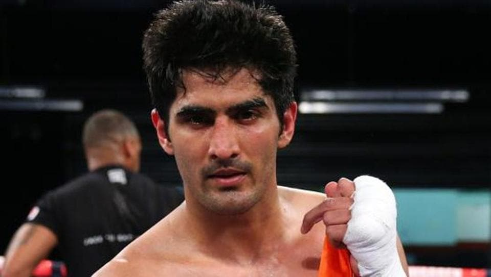Vijender Singh,Vijender Singh Boxing,Commonwealth super middleweight title