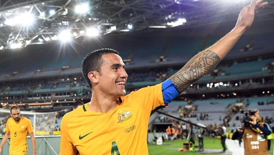 Tim Cahill,Australia national football team,World Cup 2018