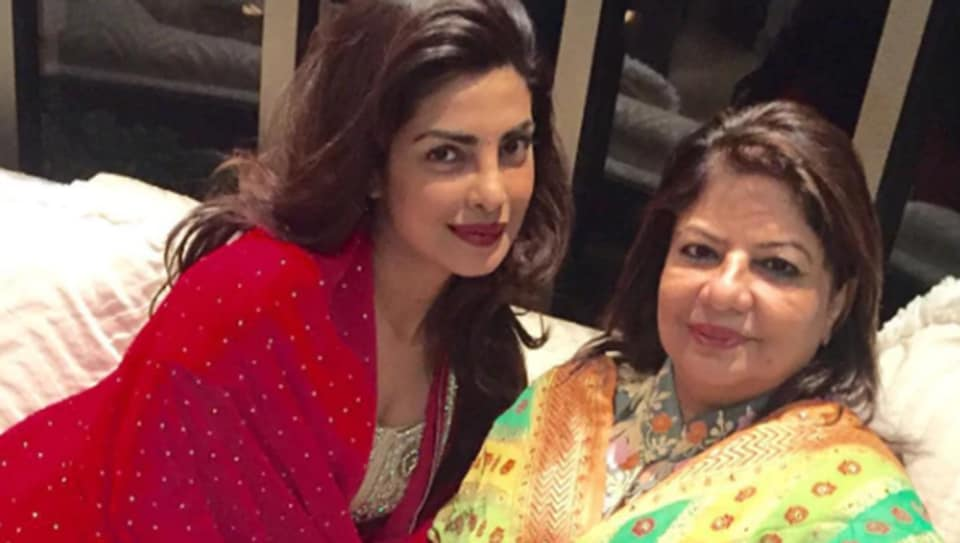 Priyanka Chopra with mom, Madhu Chopra.