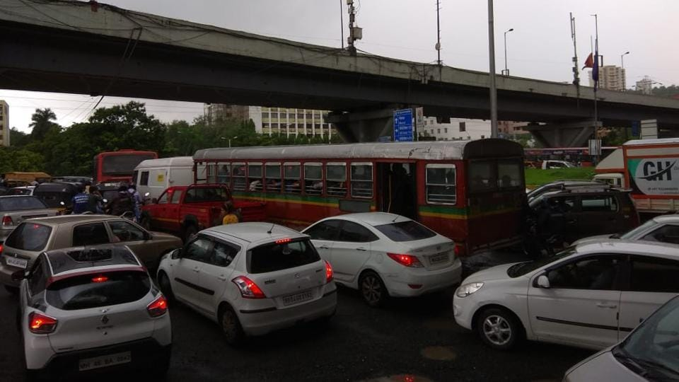 There have been traffic jams almost every day on the busy highway for weeks now.