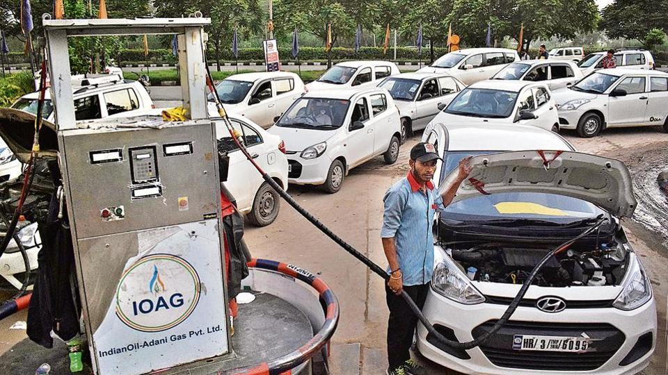 Chandigarh tricity,CNG fuel,compressed natural gas