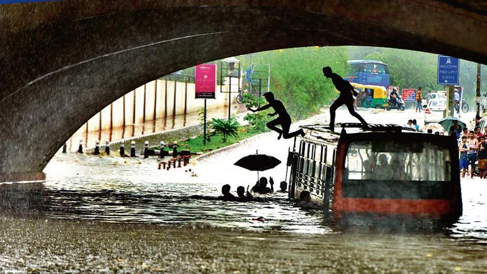 Delhi rains,waterlogging,Delhi cabinet