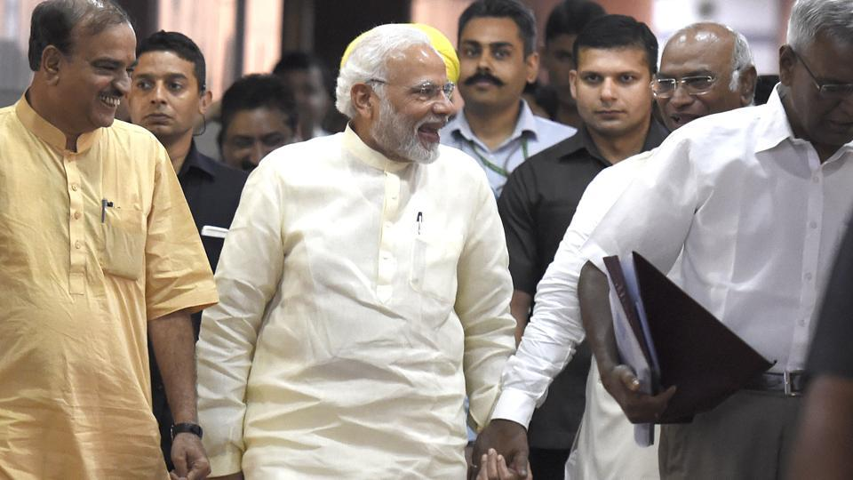 Monsoon session,Parliament,No confidence motion